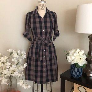 Fall plaid Dress